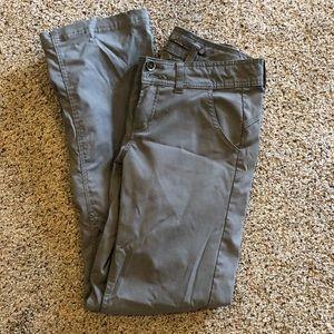 Gray prAnA stretch convertible pants